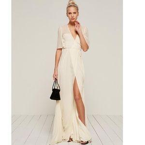Reformation Ivory Julienne Dress!!